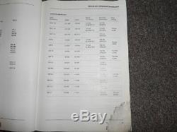 1988 Mercedes Modèles 107 124 126 201 Service De Réparation Manuel D 'atelier 88 Endommager Eau
