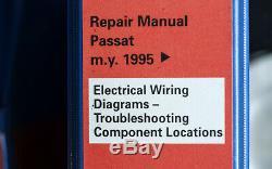 1995 Manuel Vw Passat Service / Réparation Set Publié Par Vw New Prix 10/03/2020