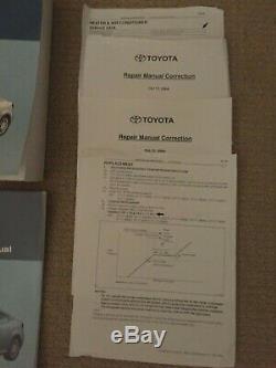 2005 Toyota Scion Tc Réparation En Atelier Manuel Set (4) Dommages Câblage & Body