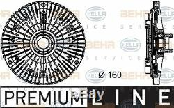 8mv 376 732-101 Hella D'embrayage, Ventilateur De Radiateur