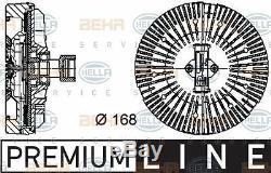8mv 376 734-381 Hella D'embrayage, Ventilateur De Radiateur