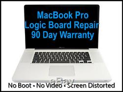 Apple Macbook Pro A1278 A1286 A1297 A1398 Damage Liquid Service De Réparation