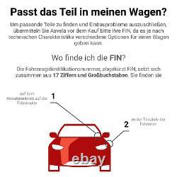 Der Bremssattel Für Audi Seat Vw A3 Sportback 8pa Bgu Bse Bsf Bxe Bkc Blp