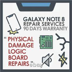 Galaxy Note 8 Motherboard Logic Board & Physical Damage Mail-in Repair Service