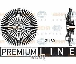 Hella Ventilateur De Radiateur D'embrayage Behr Hella Service Premium Line 8mv 376 732-2