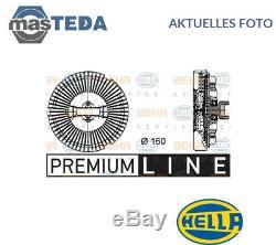Hella Visco Kühler Lüfter Rad Wasserkühler 8mv 376 733-021 I Neu Oe Qualität
