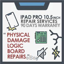 Ipad Pro 10.5 2ème Génération Dommages Physiques Et Mère Service Logique Conseil De Réparation
