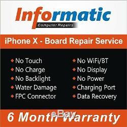 Iphone X- Mère Logic Board Service De Réparation