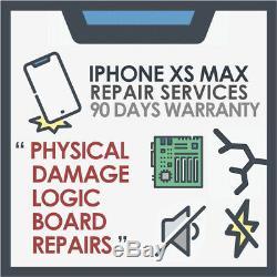 Iphone Xs Max Mère Logic Carte Et Dommages Physiques Service De Réparation