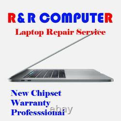 Macbook Pro 15 Retina A1990 Service De Réparation De Carte Logique De Dommages Liquides 2018