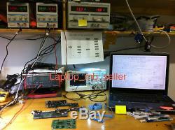 Macbook Pro A1286 Mc721ll / A Mc723ll / A Damage Liquid Logic Board Service De Réparation