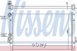 Moteur De Refroidissement Du Radiateur Nissens 65012 I Nouveau Oe Remplacement