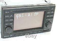 Nissan Qashqai J10 Sat Nav Navigation Display 25915bh30e 2009