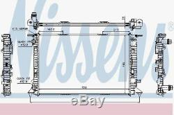 Nissens 60323 Engine Radiateur De Refroidissement Man