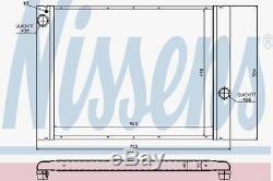 Nissens 60764 Radiateur Pour Bmw E60 545i 03