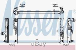 Nissens 60817 Engine Radiateur De Refroidissement Automatique