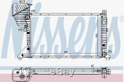 Nissens 62519a Engine Radiateur De Refroidissement Man