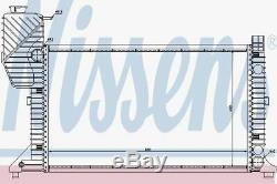 Nissens 62664a Radiateur Ajustement Mercedes Sprinter Td 95
