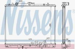 Nissens 62895a Radiateur Mitsubishi L 200 Ajustement 01