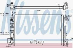 Nissens 630703 Convient Pour Opel Vectra C 2.8-v6 05