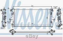Nissens 63556 Pour Radiateur Compatible Fiat Ducato 2.3d-3.0d 06