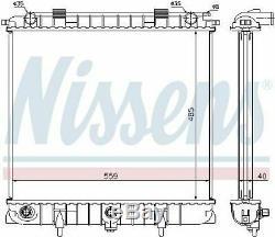 Nissens 64309 Engine Radiateur De Refroidissement