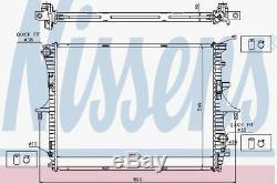 Nissens 65276a Radiateur Adapter Vw Touareg 5.0 Tdi 02 V10