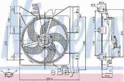 Nissens Ventilateur De Radiateur De Refroidissement 85316 P Oe De Remplacement