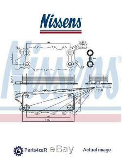 Nouveau Refroidisseur D'huile Moteur Huile Pour Mercedes Benz Jeep Chrysler G Class W461 Nissens