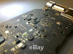 Pro Retina Liquide Macbook Damage Logic Board Service De Réparation