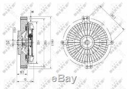 Radiateur Fan D'embrayage Mbw140 Visqueux, R129, C140, S, Sl 1192000022 A1192000022
