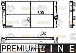 Radiateur Heat Exchanger 8mk376755-371 / Cr 1147 000p Par Behr À L'unité