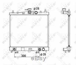 Radiateur Pour Liquide De Refroidissement III 3 Nissan March, Note 21460ax800 21460bh50a