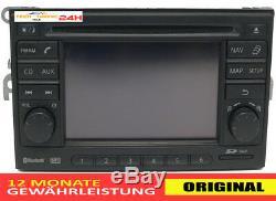 Radio D'origine Nissan Quashqai Note Juke Micra 7612830092 Sat Navi
