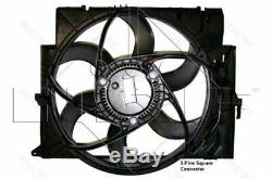 Refroidissement De Ventilateur De Radiateur Bmwe91, E90, E84, E92, E88, E93, E82, E81, E87,3,1, X1