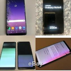 Réparation D'écran D'affichage À Cristaux Liquides Oled Fissurée Par Dommages De La Note 8 De Samsung Galaxy En Service