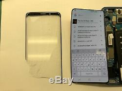 Samsung Galaxy S9 LCD Oled Damage Cracked Réparation Display Mail Service