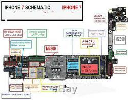 Service De Réparation De Carte Logique Pour Iphone 6 6 Plus 7 7 Plus 8 7 Plus