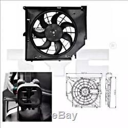 Tyc Ventilateur De Radiateur Pour Bmw E46 Coupé Break Berline À Hayon 1998-2007