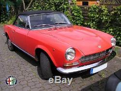 Umlenkbock Umlenkhebel Lenkung Fiat 124 Coupé De Spider Bj 1966-1983 Mit Rollenlager