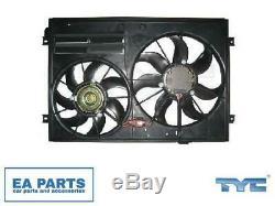 Ventilateur, Radiateur Pour Audi Seat Vw Tyc 837-0028