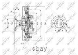 Ventilateur Radiateur Viscous Embrayage Pour Toyotaland Cruiser 80 1621017020 1621017021