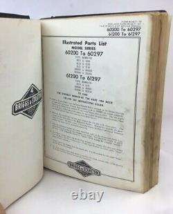 Vtg Briggs & Stratton Service Repair & Parts & Price Manual 4-cycle Engine 1968